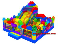 Lego Inflatable Playground