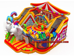 Great Circus Inflatable Playground