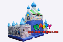 King's Castle Inflatable Playground With Slide