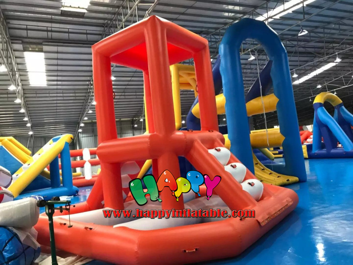Cambodia New Floating Inflatable  Water park