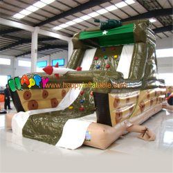 Tank Inflatable Water Slide