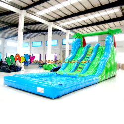 Two Color Wavelike Water Slide