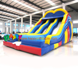 Two Path Corloful Inflatable-Slides