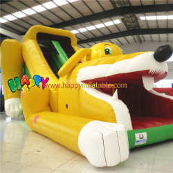 Puppy inflatable slide