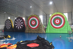 SP-403-2019 hot sale Inflatable dartboard shooting goal