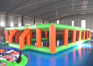 SP-426-inflatable water football court for kids