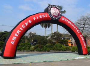 AR-106-Customized Inflatable Advertising arch for Commercial promotion