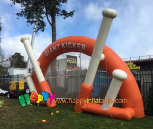 AR-115-baseball bat inflatable arch for sport game