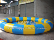 Pl-031-pool with blue and yellow color