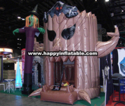 DC-044-Inflatable trampoline tree