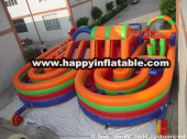 OB-0110-Inflatable obstacle course