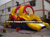 OB-0115-Inflatable combo course