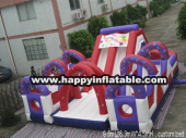 OB-0116-Inflatable obstacle course