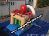 OB-0118-inflatable kid obstacle course
