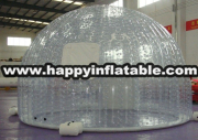 Te-127-used inflatable tent