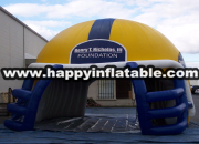 Te-131- inflatable exhibition tent