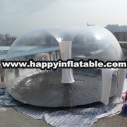 Te-134-clear inflatable tent