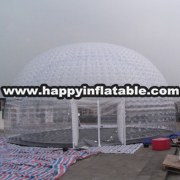 Te-136-inflatable air dome tent for sale