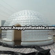 Te-137-giant inflatable dome tent